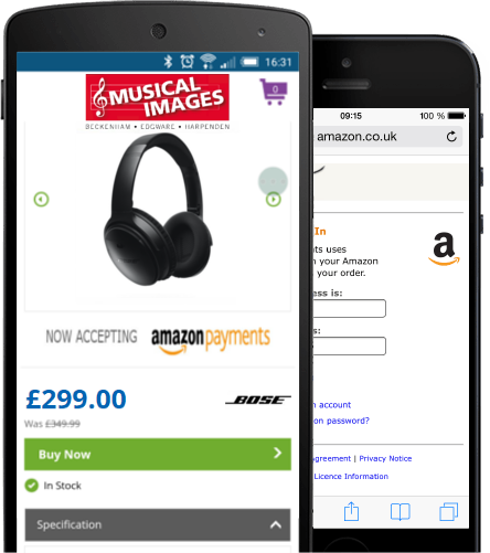 Amazon Payments - SImplified for Mobile Transactions