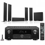 Denon AVC-X4700H 9.2ch 8K AV Amplifier with KEF T305 5.1 Home Theatre Speaker Package
