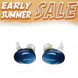 Bose SoundSport Free Wireless In-Ear Headphones in Midnight Blue front