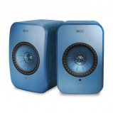 KEF LSX Wireless Music Speakers in Blue
