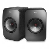 Kef LSX WIreless Music Speakers in Black pair