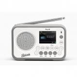 Roberts Radio Play 20 DAB/DAB+/FM Bluetooth Portable Digital Radio - White front