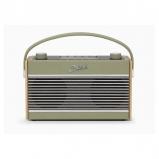 Roberts Radio Rambler BT Stereo DAB/DAB+/FM Bluetooth Digital Radio - Leaf Green front