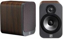 Q Acoustics Q3020 Series Bookshelf Speakers in American Walnut Pair