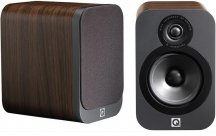 Q Acoustics Q3010 Bookshelf Speakers in American Walnut Pair