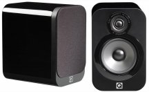 Q Acoustics QA3010 Bookshelf Speakers in Black Lacquer Pair
