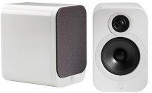 Q Acoustics QA3010 Bookshelf Speakers in White Pair