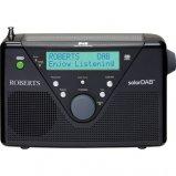 Roberts SolarDAB 2 DAB digital solar radio in Black