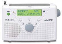 Roberts radio SolarDAB 2 DAB digital solar radio in White