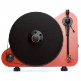 Pro-Ject VT-E Vertical Plug and Play Lifestyle Turntable in Red