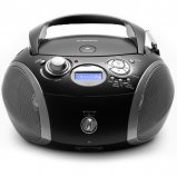 Roberts Radio Zoombox 3 DAB/DAB+/FM Digital Radio with CD, USB and SD Player Options - Black