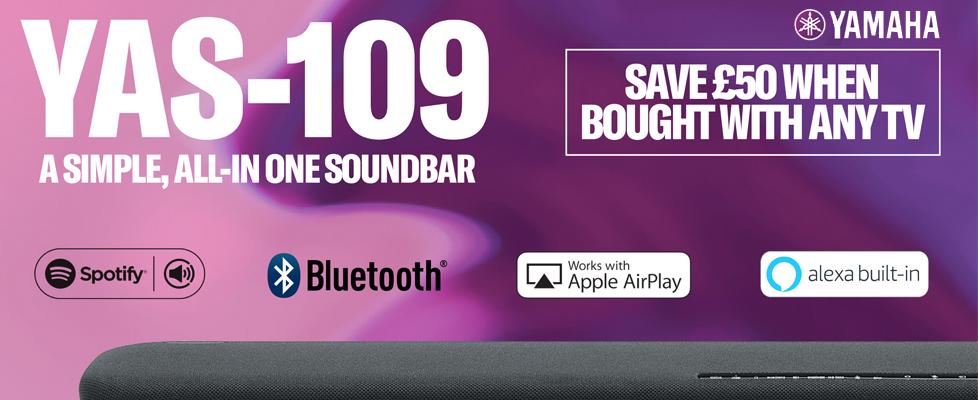 Yamaha Soundbar Promotion 2020