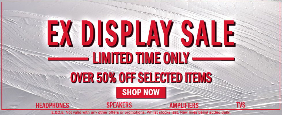 Ex Display Sale