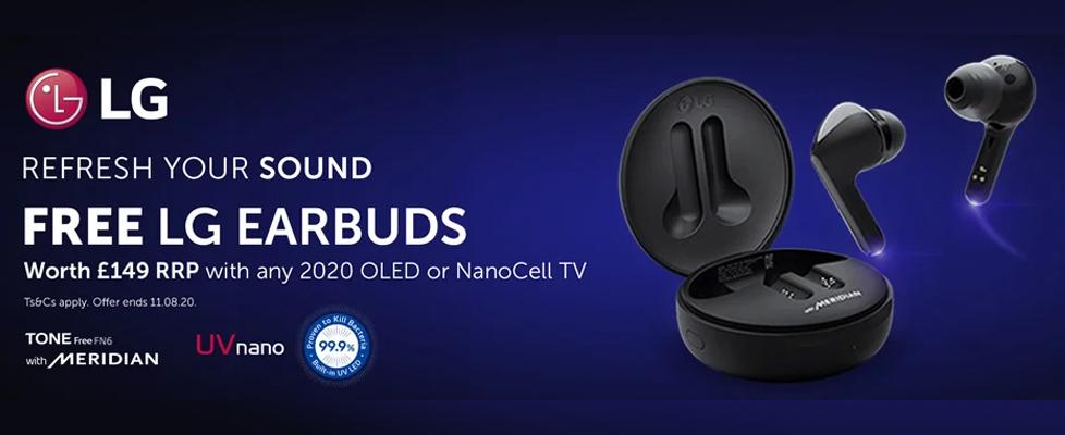 LG Free Earbud Promo