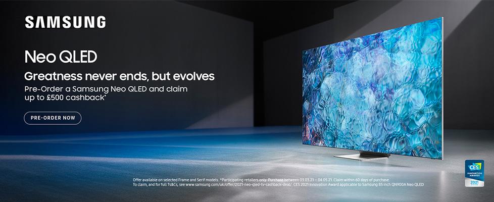 Samsung Neo QLED Pre-Order Cashback Promotion