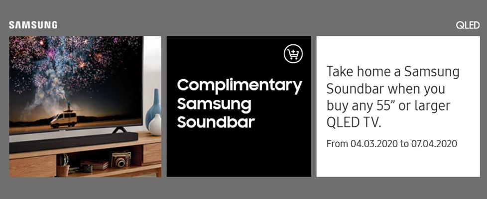 Samsung Soundbar Promotion 2020