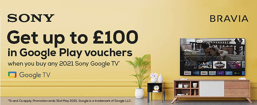 Sony Google Play Voucher Promotion