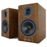 Acoustic Energy AE300 Real Walnut Wood Veneer Speakers - Pair