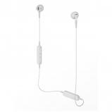 Audio Technica ATH-C200BT Wireless In-Ear Headphones - White