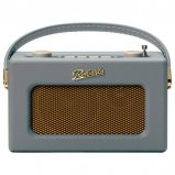 Roberts REVIVAL-UNO DAB/DAB+/FM Digital Radio with Alarm - Dove Grey front