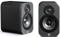Q Acoustics Q3010 Bookshelf Speakers in Matte Graphite Pair