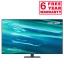 Samsung QE75Q80AA 2021 75 inch Q80A QLED 4K HDR Smart TV front