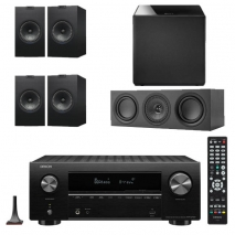 Denon AVRX2700H 7.2 Ch 8K AV Receiver with Kef Q150 Speaker Pack
