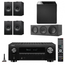 Denon AVC-X3700H 9.2ch 8K AV Amplifier with KEF Q150 Speaker Package
