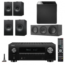 Denon AVC-X3700H 9.2ch 8K AV Amplifier with KEF Q350 Speaker Package