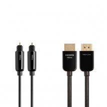 1 x 2m HDMI Cable + 1 x 3m Sub Cable