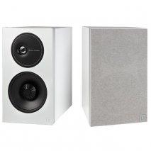 Definitive Technology D11 High Performance Bookshelf Speakers in White pair