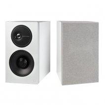 Definitive Technology D7 High Performance Bookshelf Speakers in White pair