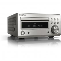 Denon RC-DM41DAB Micro Hi-Fi CD Receiver in Silver
