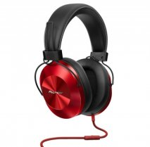 Pioneer SEMS5TR Hi-Res Over-Ear Headphone Style Series Red