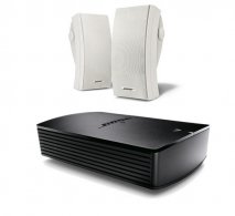Bose SoundTouch SA-5 Amplifier with Bose 251 Environmental in White
