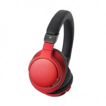 Audio Technica ATH-AR5BT Wireless Over-Ear High-Res Headphones - Red