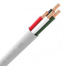 QED Q16/4 Black Outdoor Speaker Cable - 20m