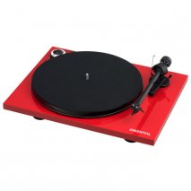 Pro-Ject Essential III Digital Turntable with Built in Phono Stage in Red
