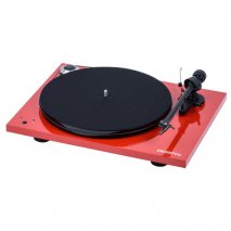 Pro-Ject Essential III SB Turntable with Built in Speed Control in Red
