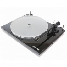 Pro-Ject Essential III A Turntable with Acryl-IT E Platter in Black front
