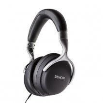 Denon AH-GC25W Premium Wireless Headphones in Black full