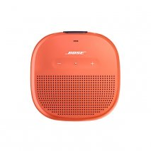 Bose SoundLink Micro Bluetooth Speaker in Bright Orange Front