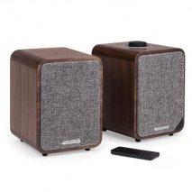 Ruark MR1 MK2 Active Bluetooth Speakers - Rich Walnut