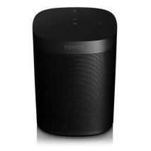 Sonos One Wireless Speaker with Amazon Alexa in Black - Gen 2 front