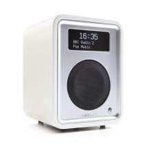 Ruark R1 MK3 Deluxe Table Top Radio with Bluetooth - Soft White angle