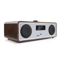 Ruark R2 MK3 Table Top Stereo with Bluetooth and Wi-Fi - Walnut Veneer angle