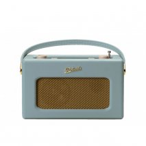 Roberts RD70DE DAB+/DAB/FM Revival Radio with Bluetooth -Duck Egg Blue front