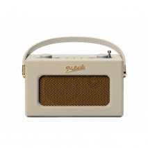 Roberts REVIVAL-UNO DAB/DAB+/FM Digital Radio with Alarm -Pastel Cream front