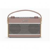 Roberts Radio Rambler BT Stereo DAB/DAB+/FM Bluetooth Digital Radio - Dusky Pink front