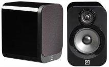 Q Acoustics QA3010 Bookshelf Speakers in Black Lacquer Pair